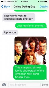The Cheap Trick text convo we talked about on the podcast!